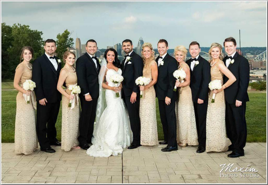Drees Pavilion Wedding Bridal party