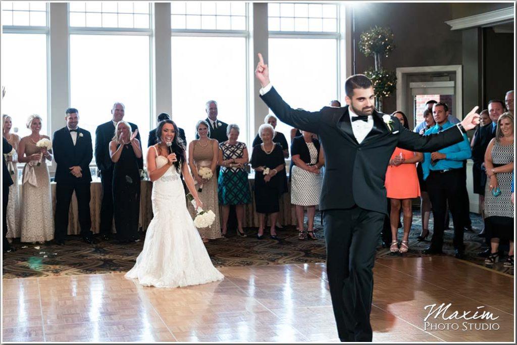 Drees Pavilion Covington Kentucky Wedding reception