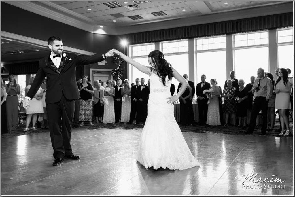 Drees Pavilion Covington Wedding reception dance