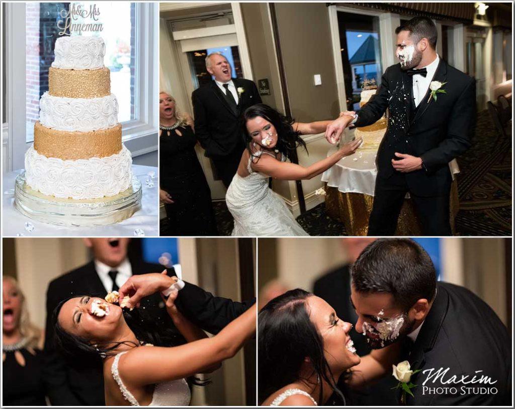 Drees Pavilion Wedding Sweetest Things Cincy cake