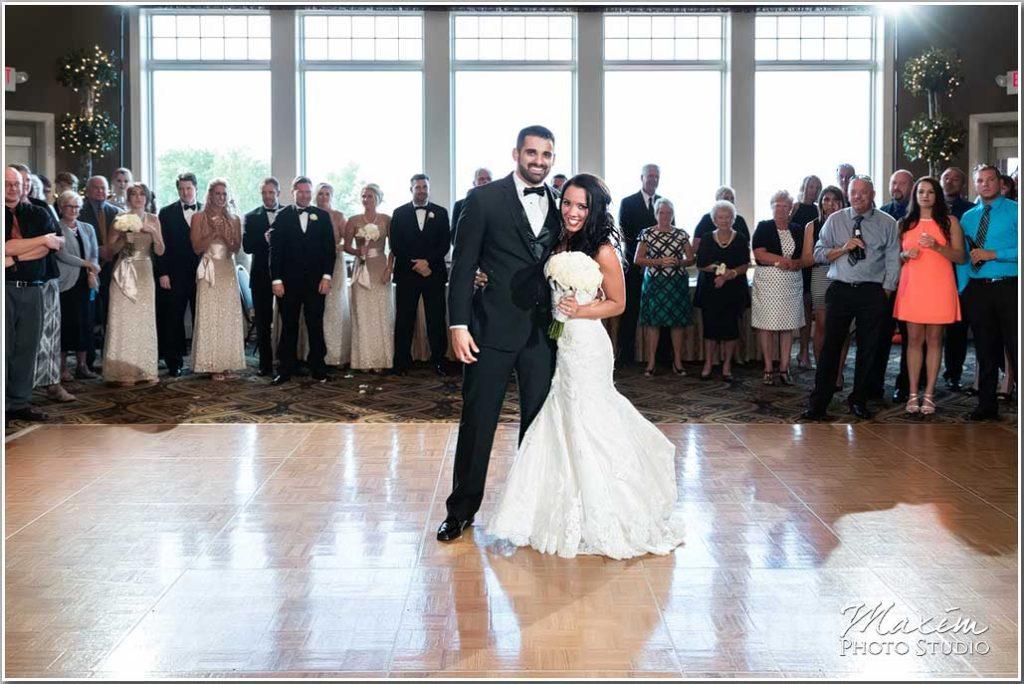 Drees Pavilion Wedding reception dance