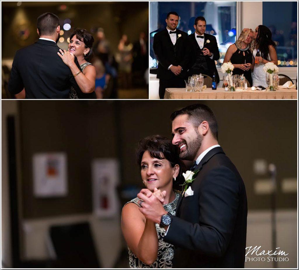 Drees Pavilion Wedding reception mother son