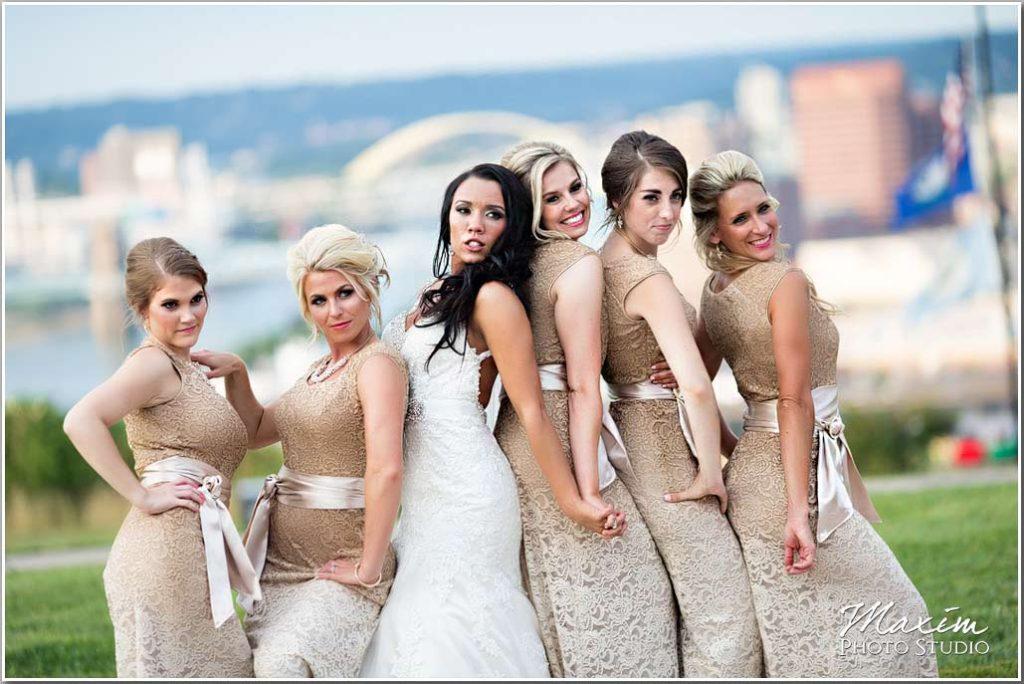 Drees Pavilion Wedding Bridesmaids