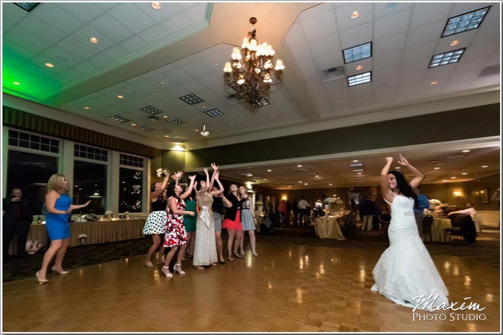 Drees Pavilion Wedding reception bouquet