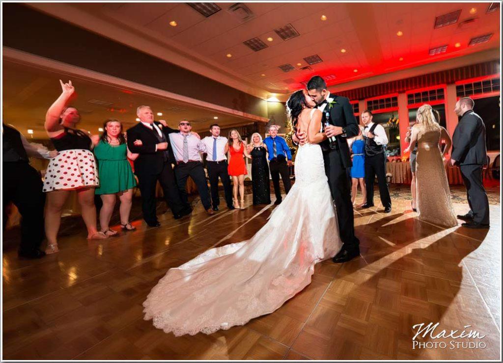 Drees Pavilion Wedding reception picture