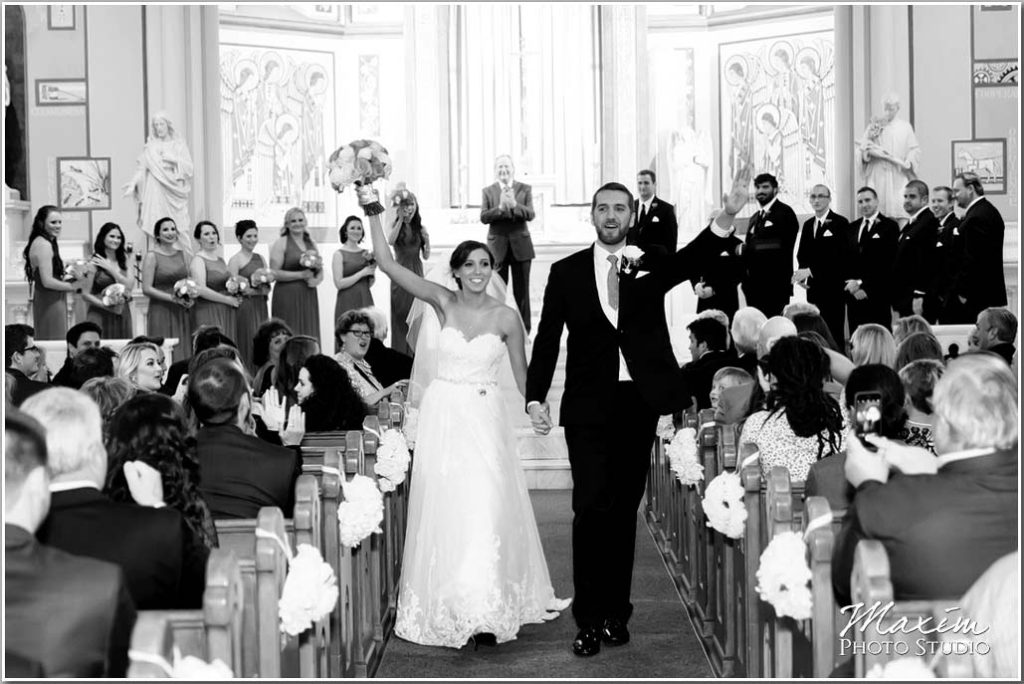 St. Aloysius Chapel Cincinnati Wedding picture