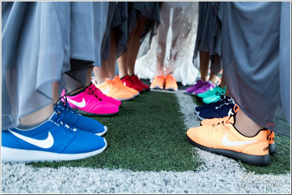 Paul Brown Stadium Bride wedding shoes