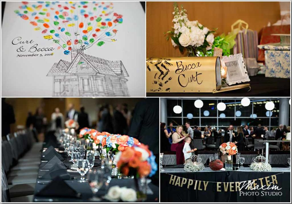 Paul Brown Stadium Wedding Reception picture