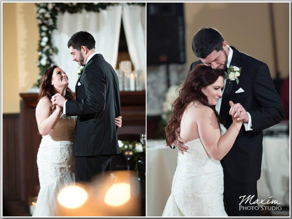 First Dance Fairfax Hall Virginia Wedding