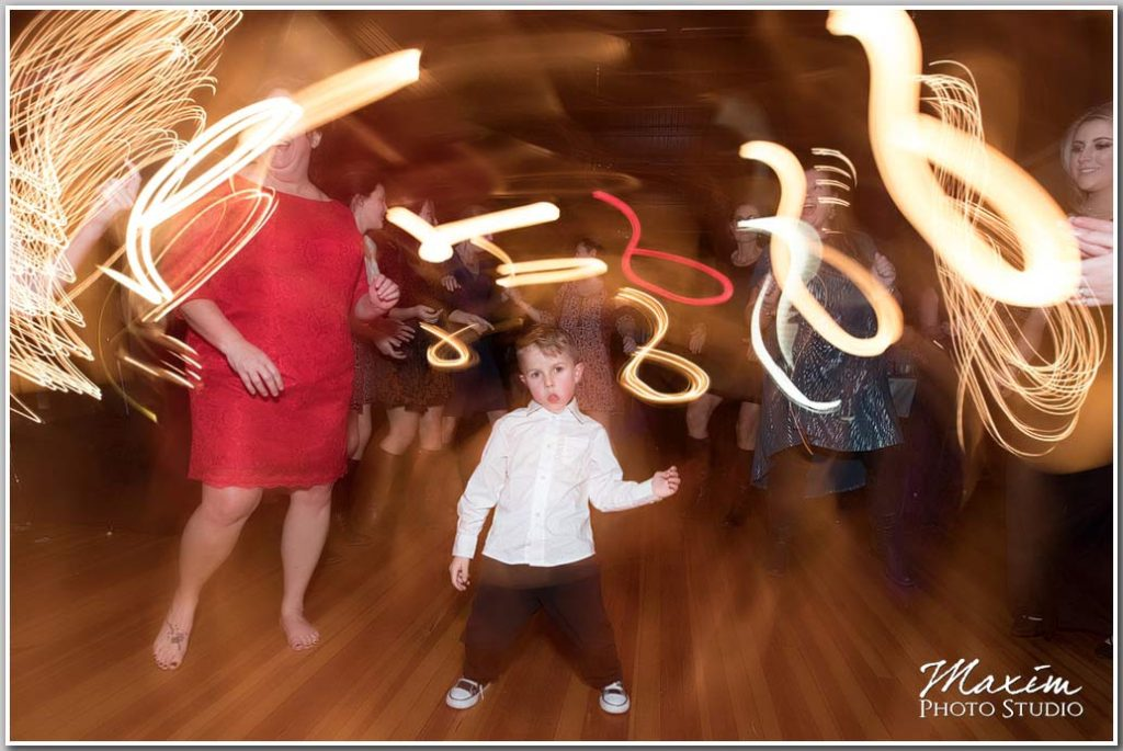 Fun Wedding reception Fairfax Hall Virginia pictures