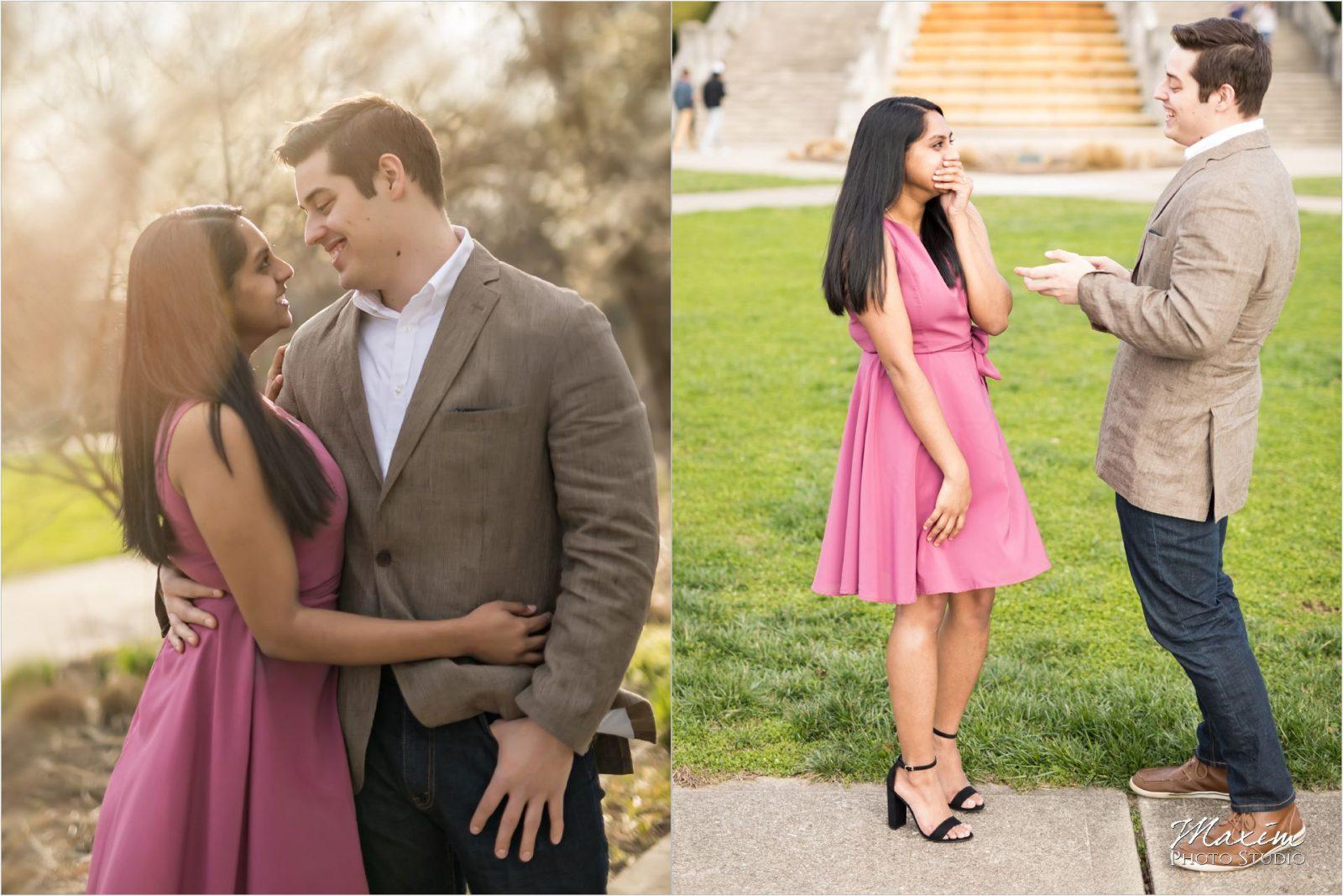 Cincinnati Wedding Photographers Ault Park Pavilion Engagement