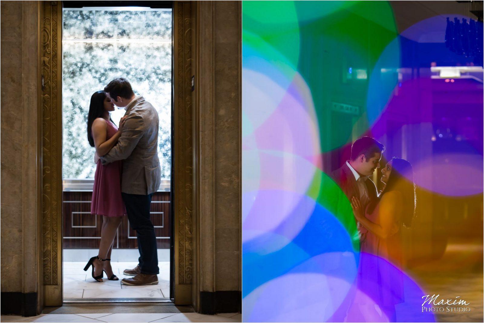 Cincinnati Wedding Photographers Renaissance Hotel Engagement