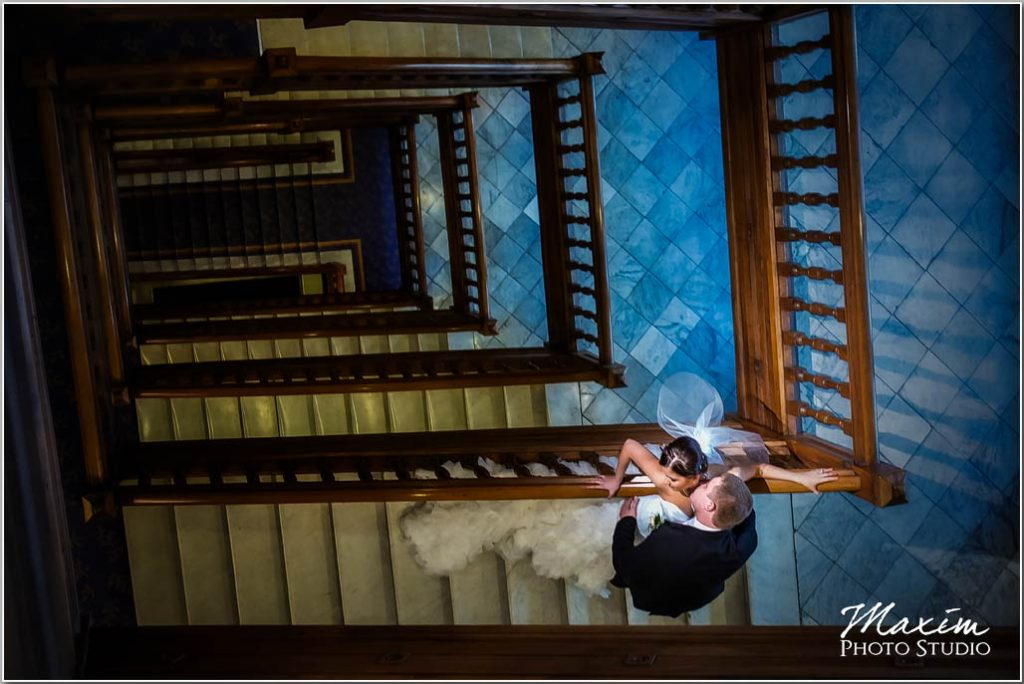 Cincinnati wedding photographers Cincinnatian hotel