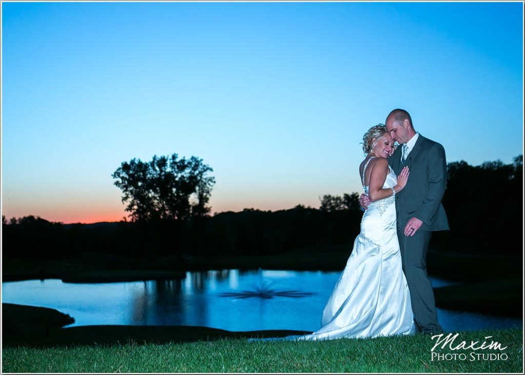 Cincinnati wedding photographers Pebble Creek golf club