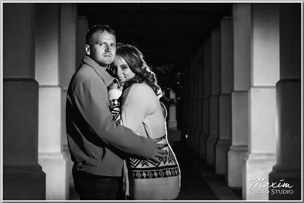 PG Gardens Cincinnati Engagement photography