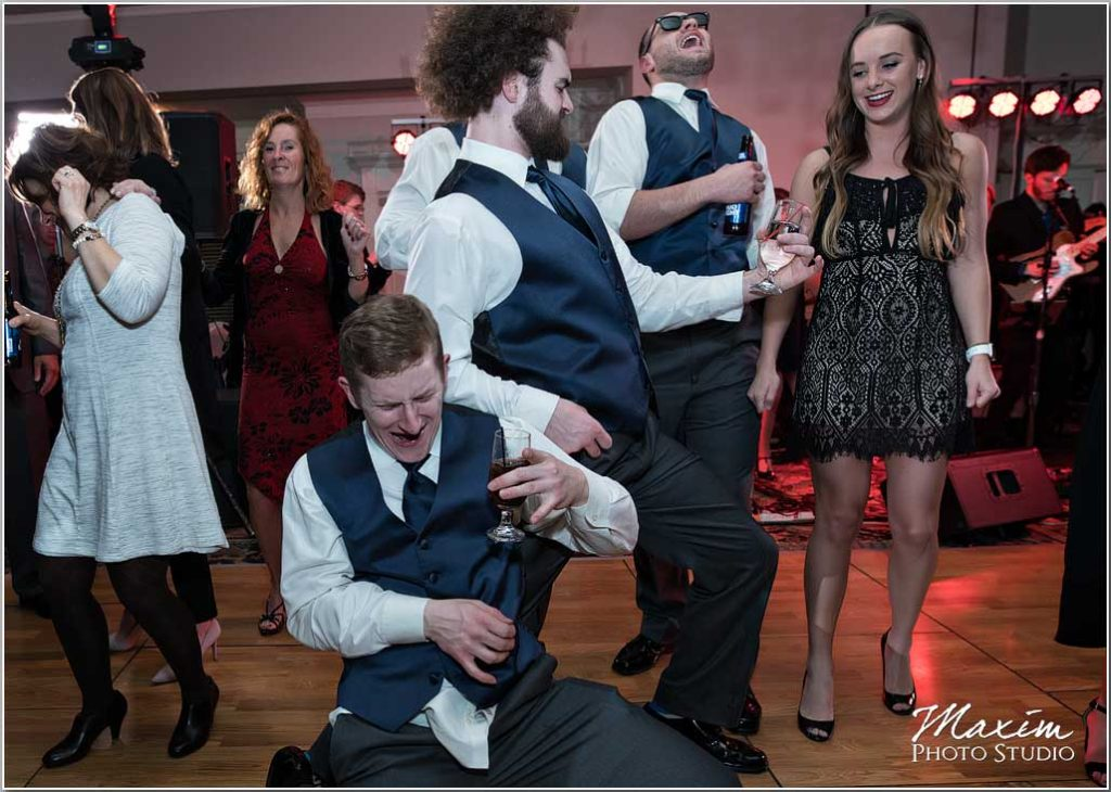 Wedding reception, Air Guitar, Manor House Ohio