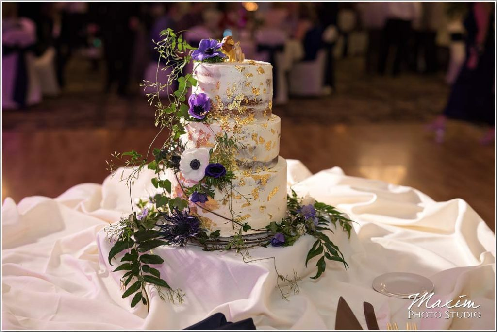 Cincinnati Wedding Photography, Manor House Ohio wedding cake
