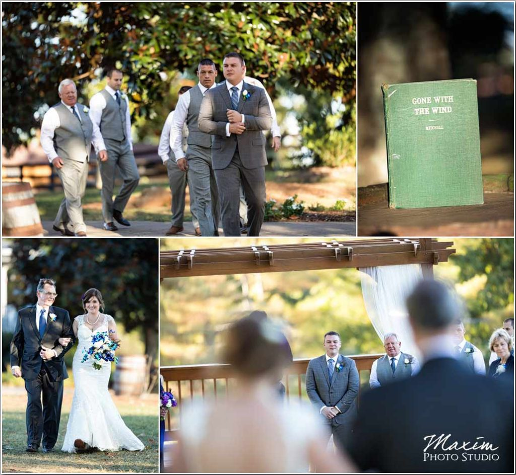 White Oaks Georgia destination wedding ceremony