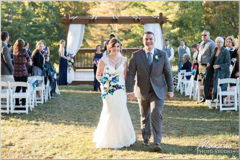 White Oaks Georgia destination wedding ceremony couple
