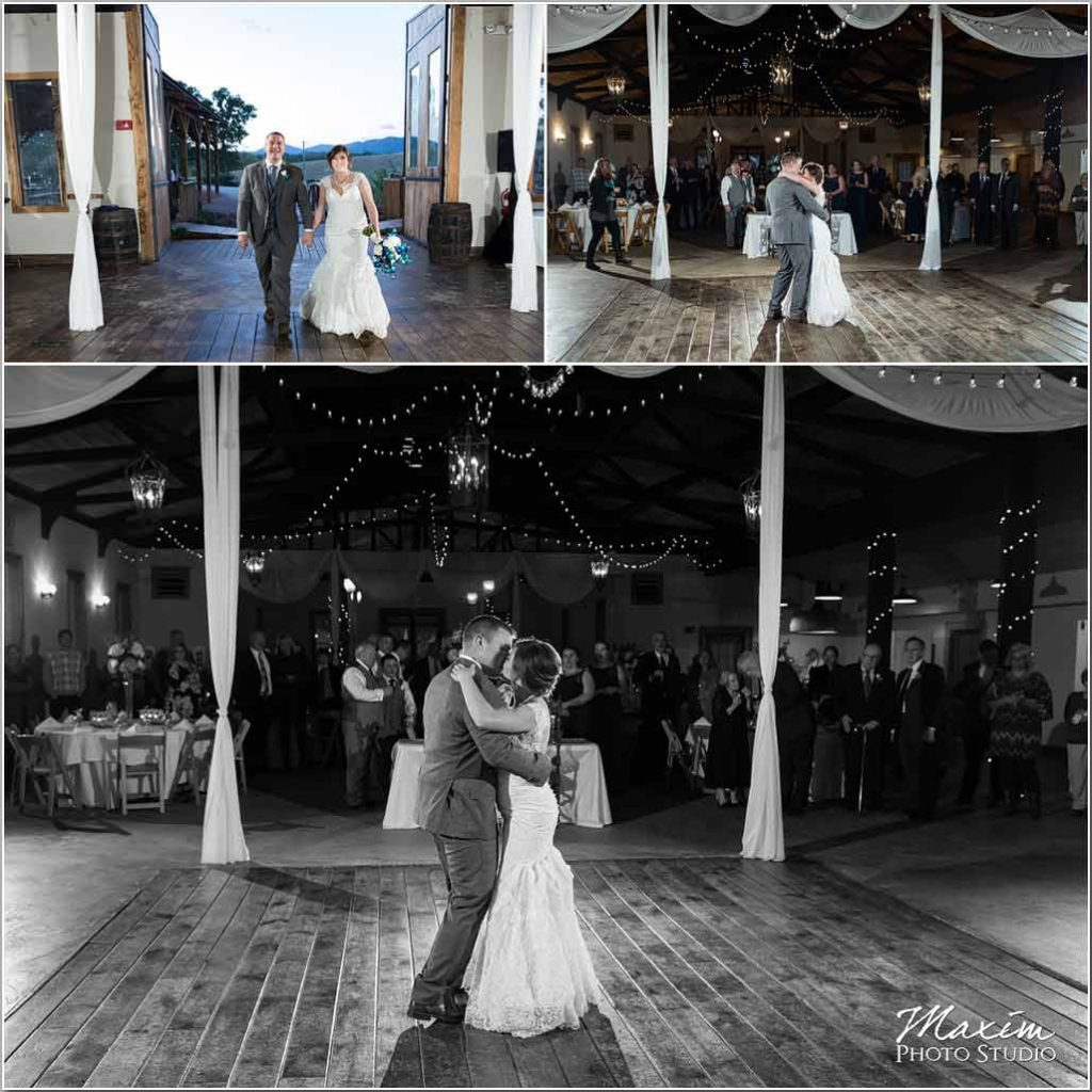 White Oaks Georgia wedding reception dance