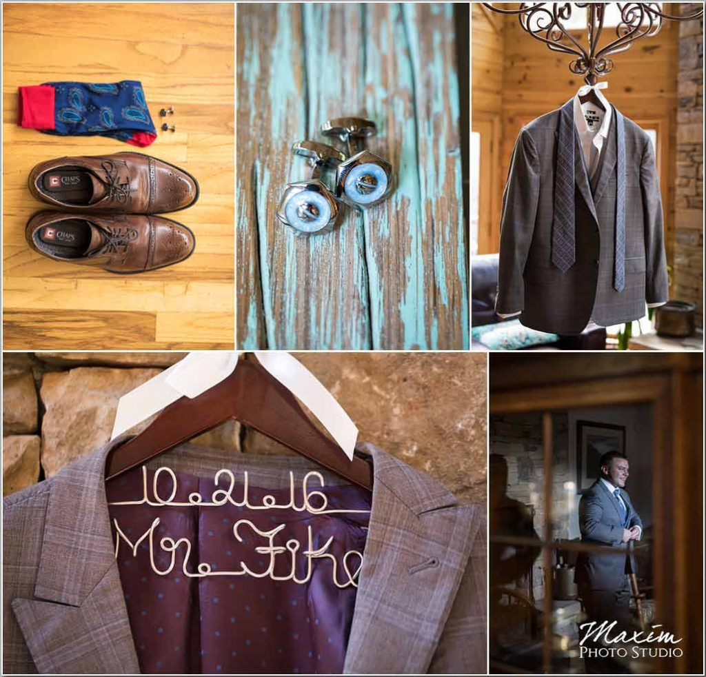 White Oaks Georgia destination wedding groom prep