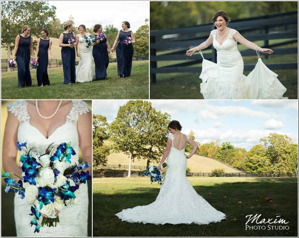 White Oaks Georgia destination wedding bride