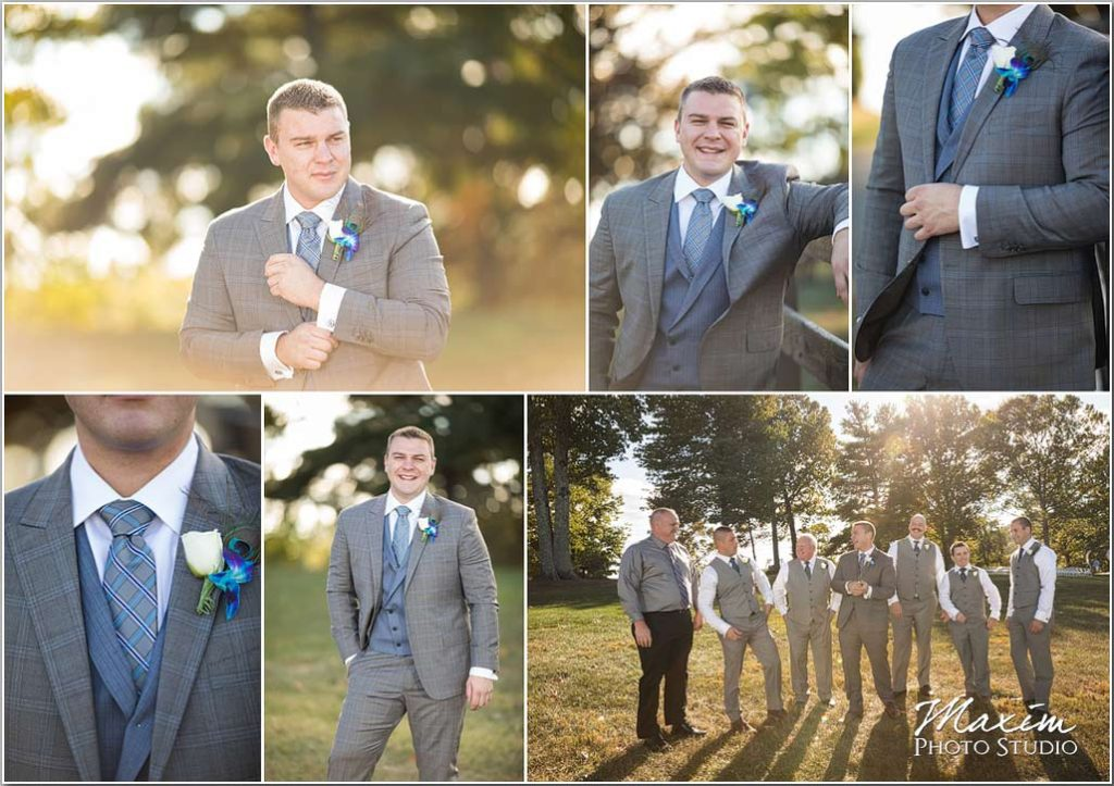 White Oaks Georgia destination wedding groom