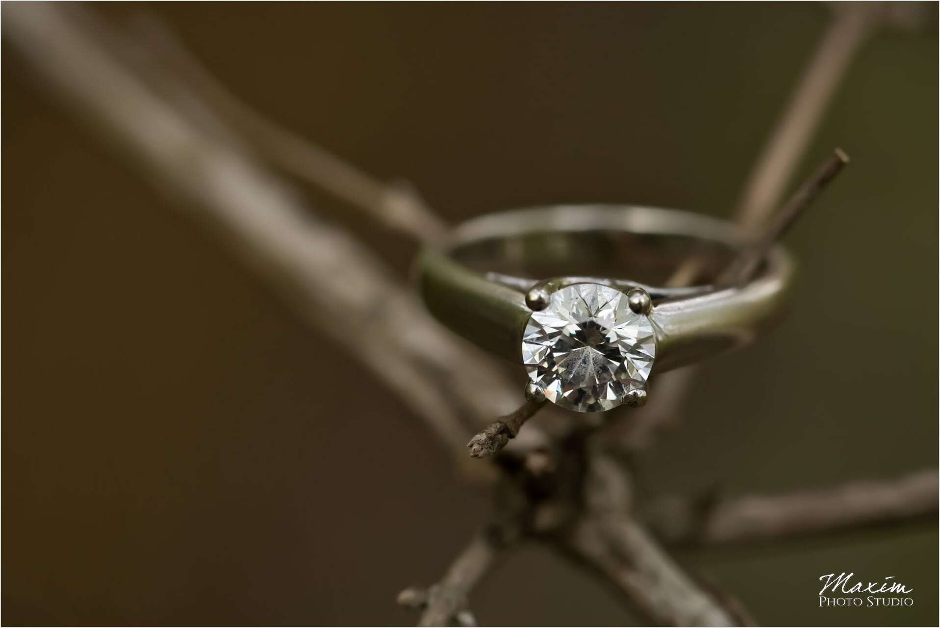 Lebanon Ohio Engagement Wedding Ring