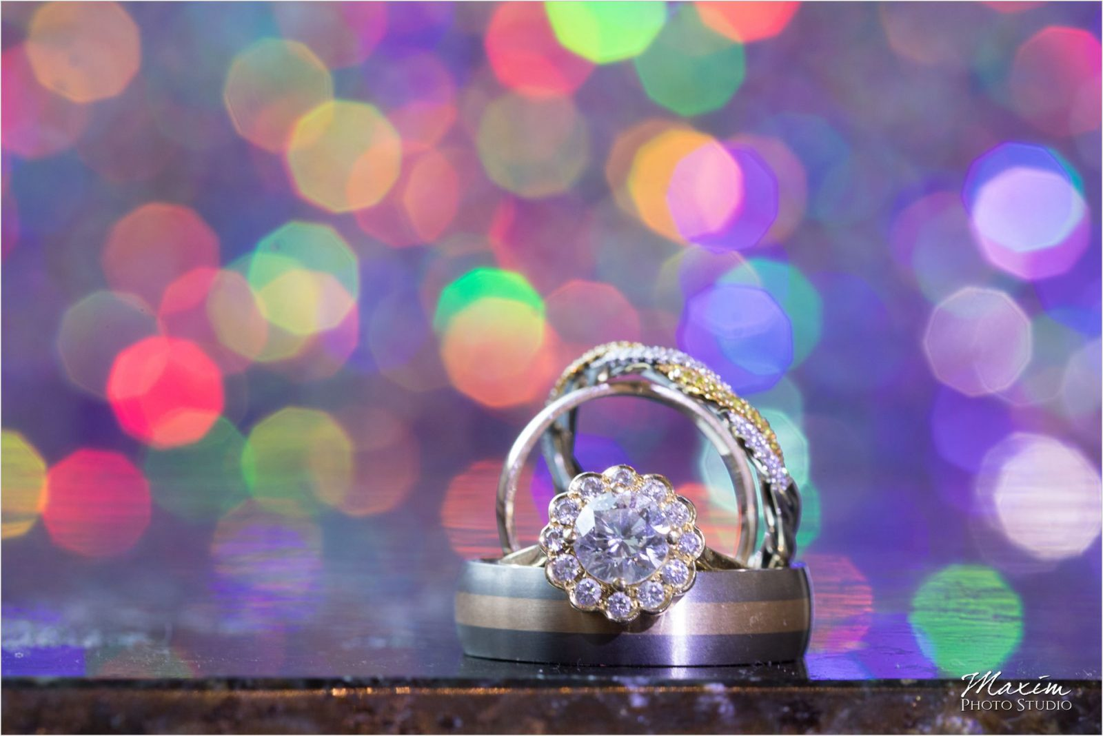 The Phoenix Cincinnati Wedding ring
