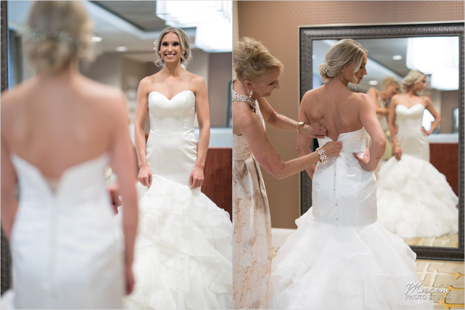 Phoenix Cincinnati Wedding bride Preparations