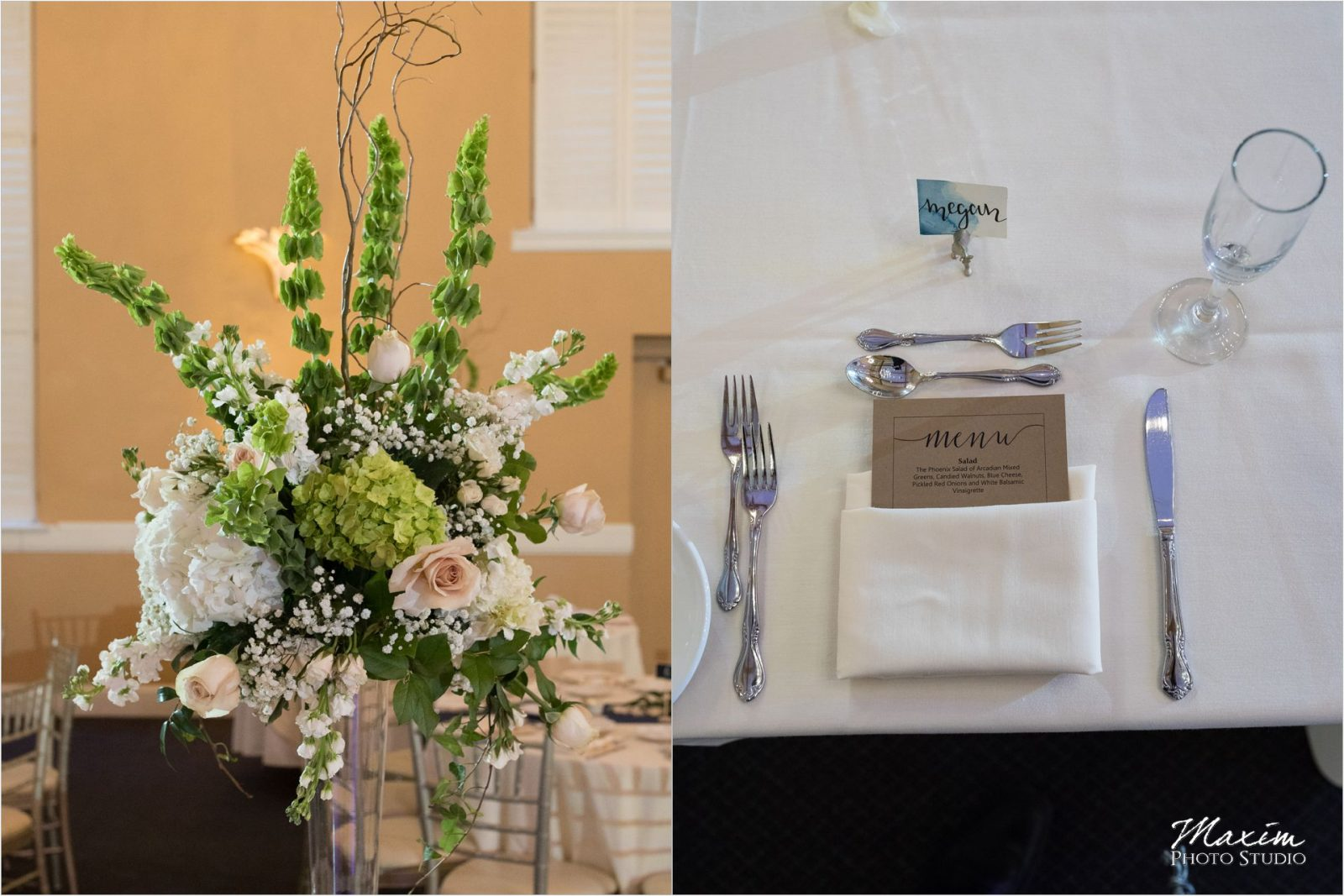 The Phoenix Cincinnati Wedding Reception Details