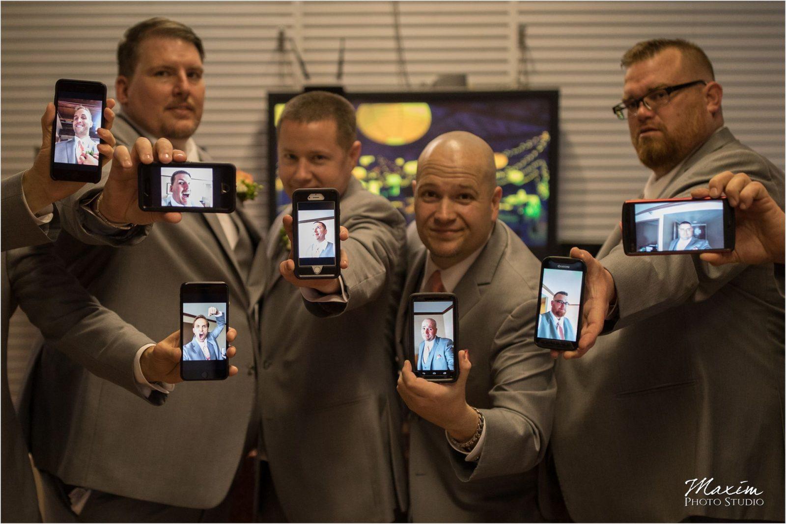 Top of the Market Dayton Ohio Wedding groomsmen