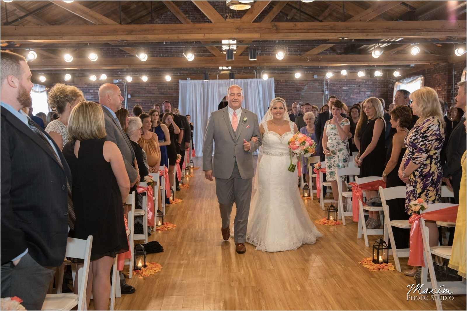 Top of the Market Dayton Ohio Wedding ceremony
