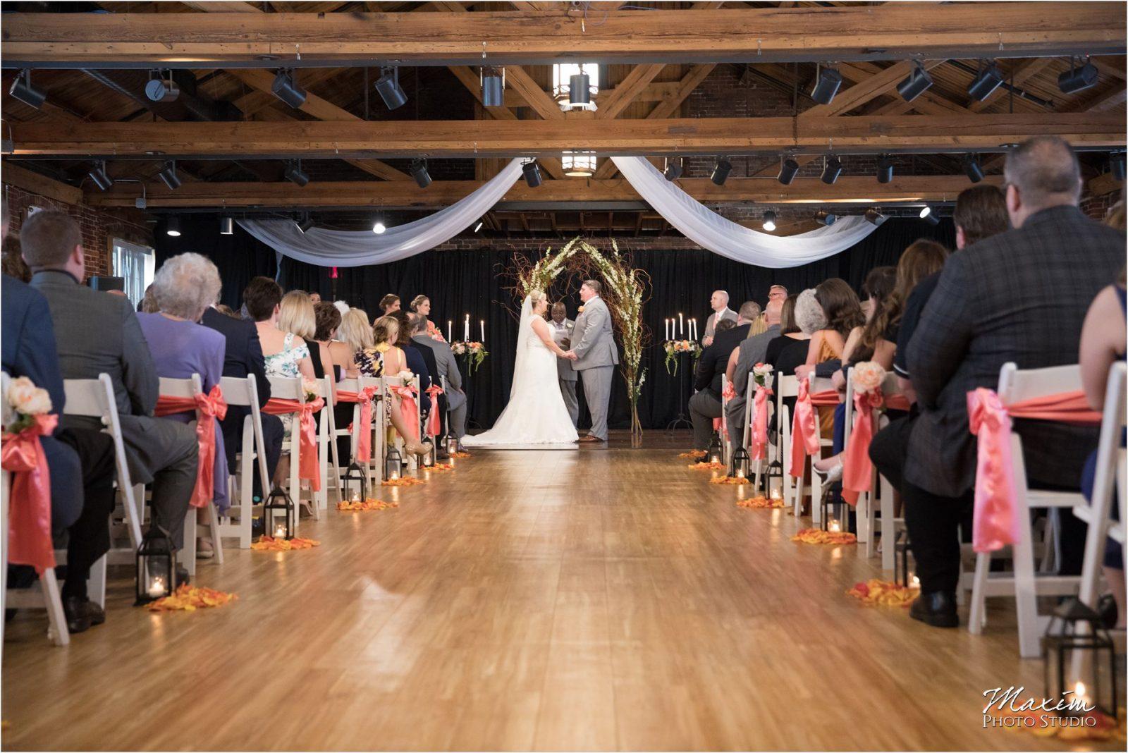 Top of the Market Dayton Ohio Wedding ceremony