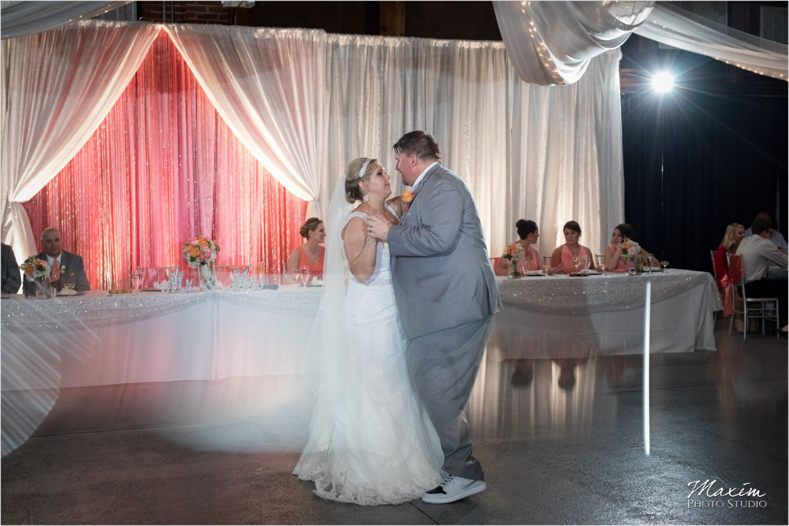 Top of the Market Dayton Ohio Wedding Reception dance