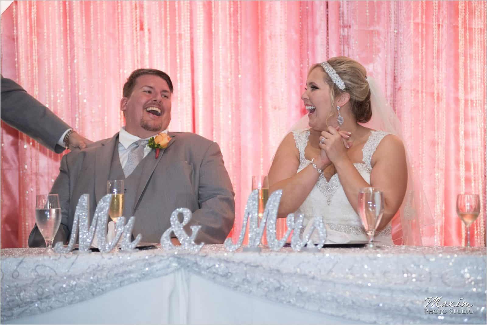 Top of the Market Dayton Ohio Wedding Reception toast