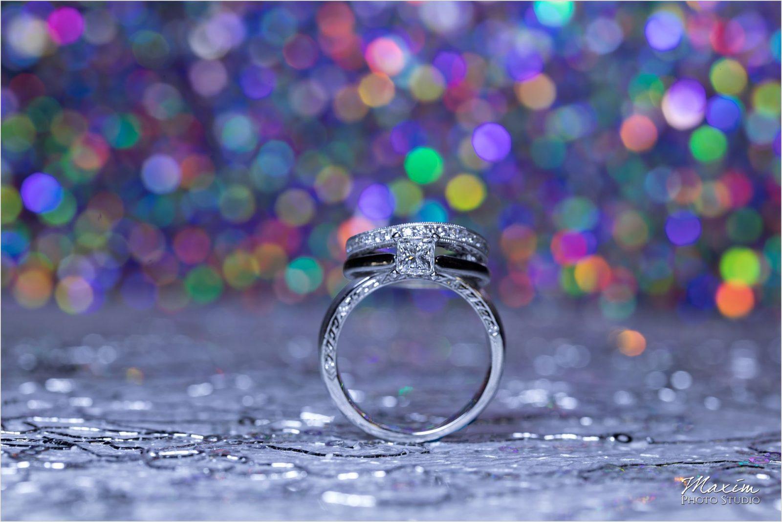 Top of the Market Dayton Ohio Wedding Reception ring