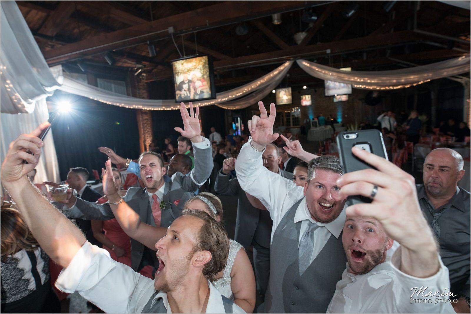 Top of the Market Dayton Ohio Wedding Reception dance