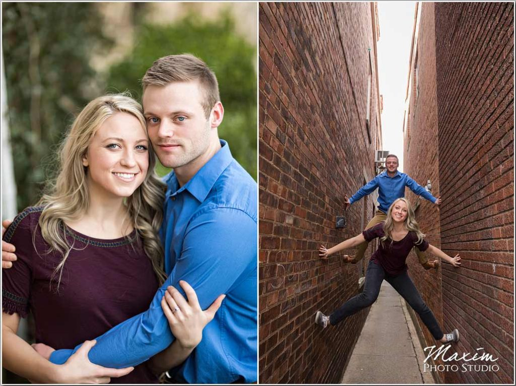Historic Milford Ohio Engagement Photography