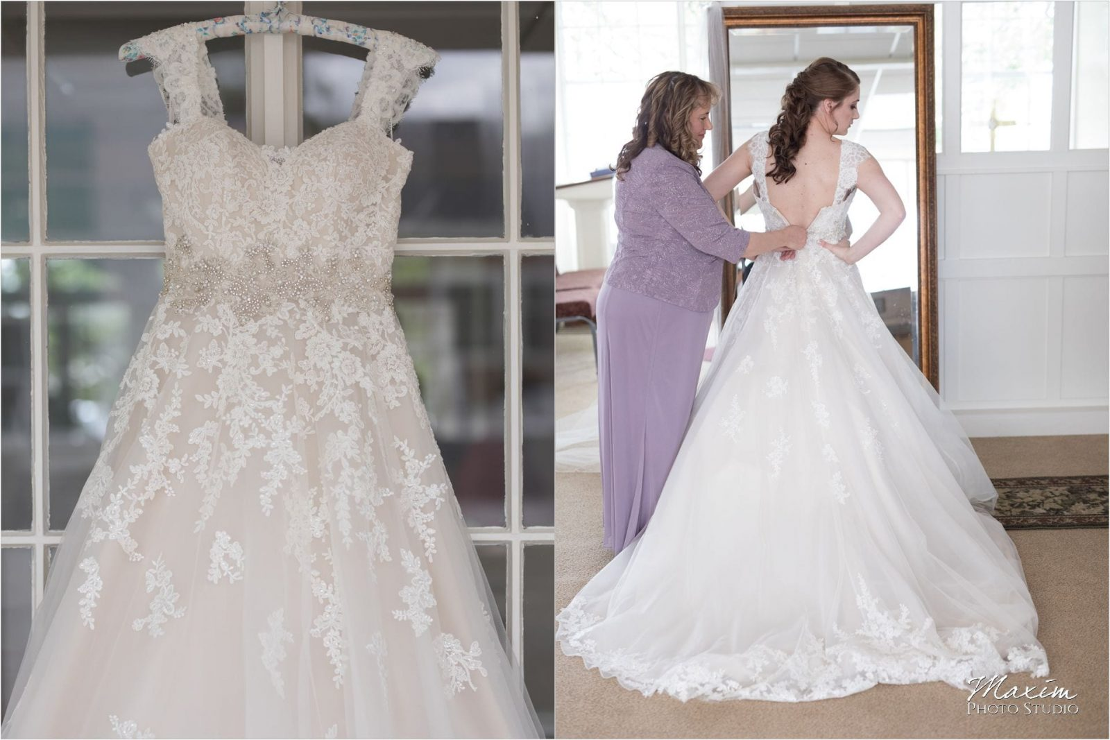 Norlyn Manor, Cincinnati Wedding Photography, Bride preparations, Faboulous Bridal Wedding Dress