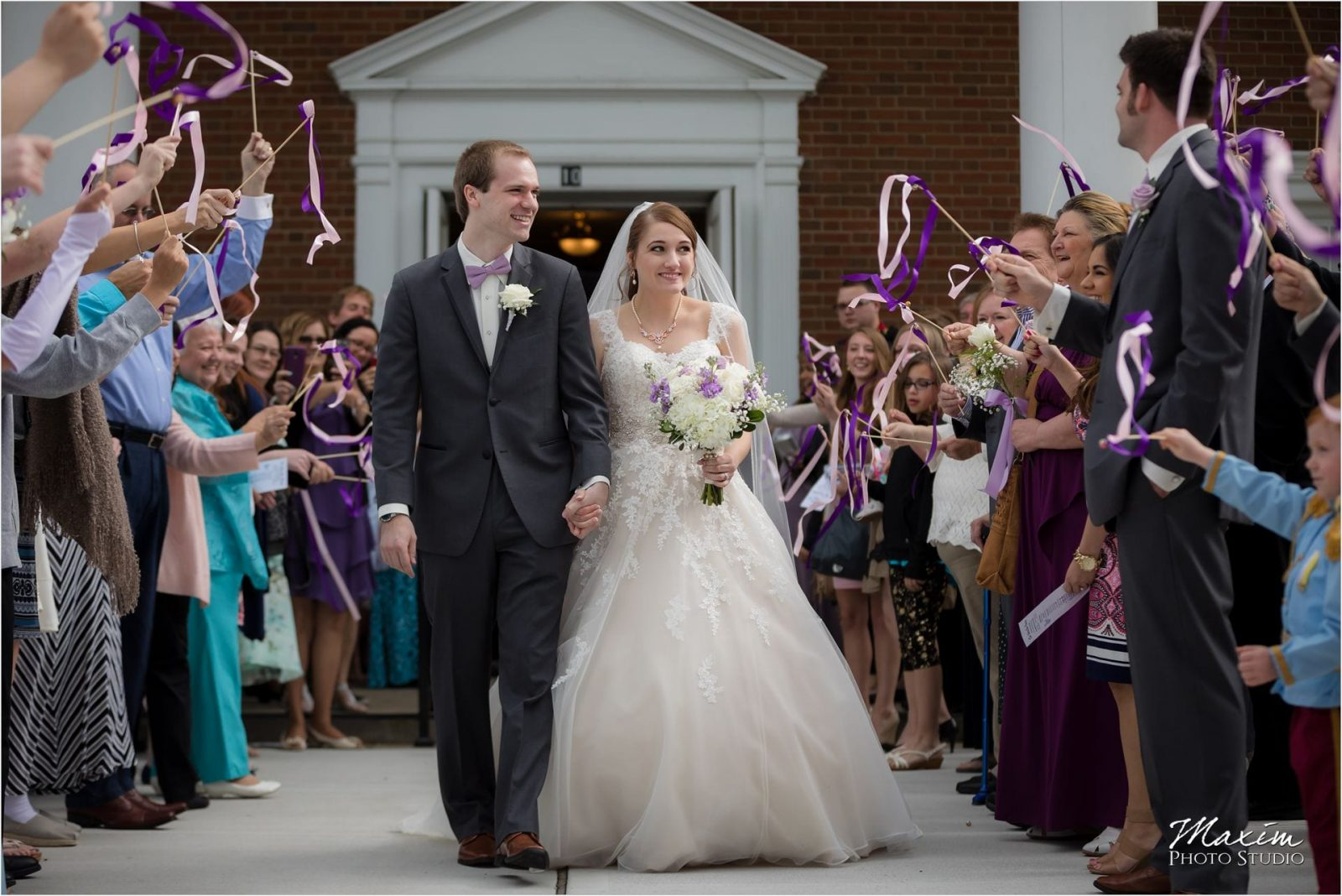 Anderson Hills UMC, Cincinnati Wedding Photography, Wedding Ceremony, Bubble Exit