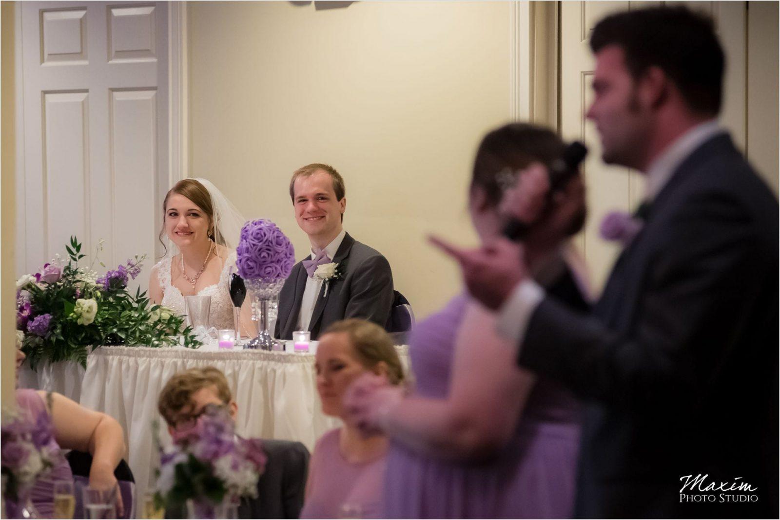 Norlyn Manor, Cincinnati Wedding Photography, Wedding Reception Toasts