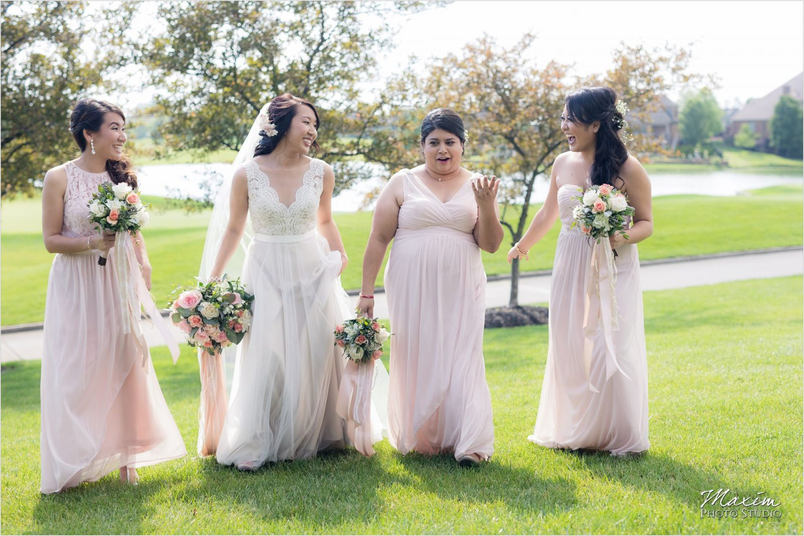 Four Bridges Country Club Wedding Bridesmaids