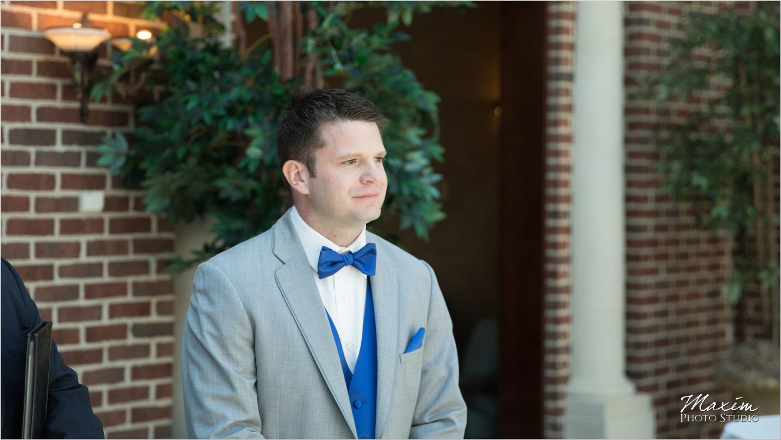 Manor House Atrium Ohio Wedding Ceremony