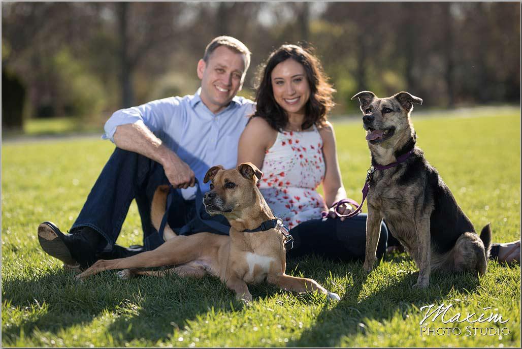Ault Park Cincinnati Dogs engagement