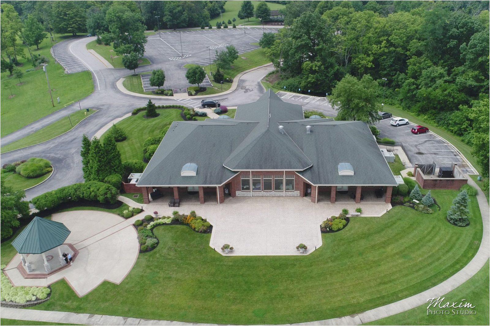 Drees Pavilion Covington Ohio Wedding Reception
