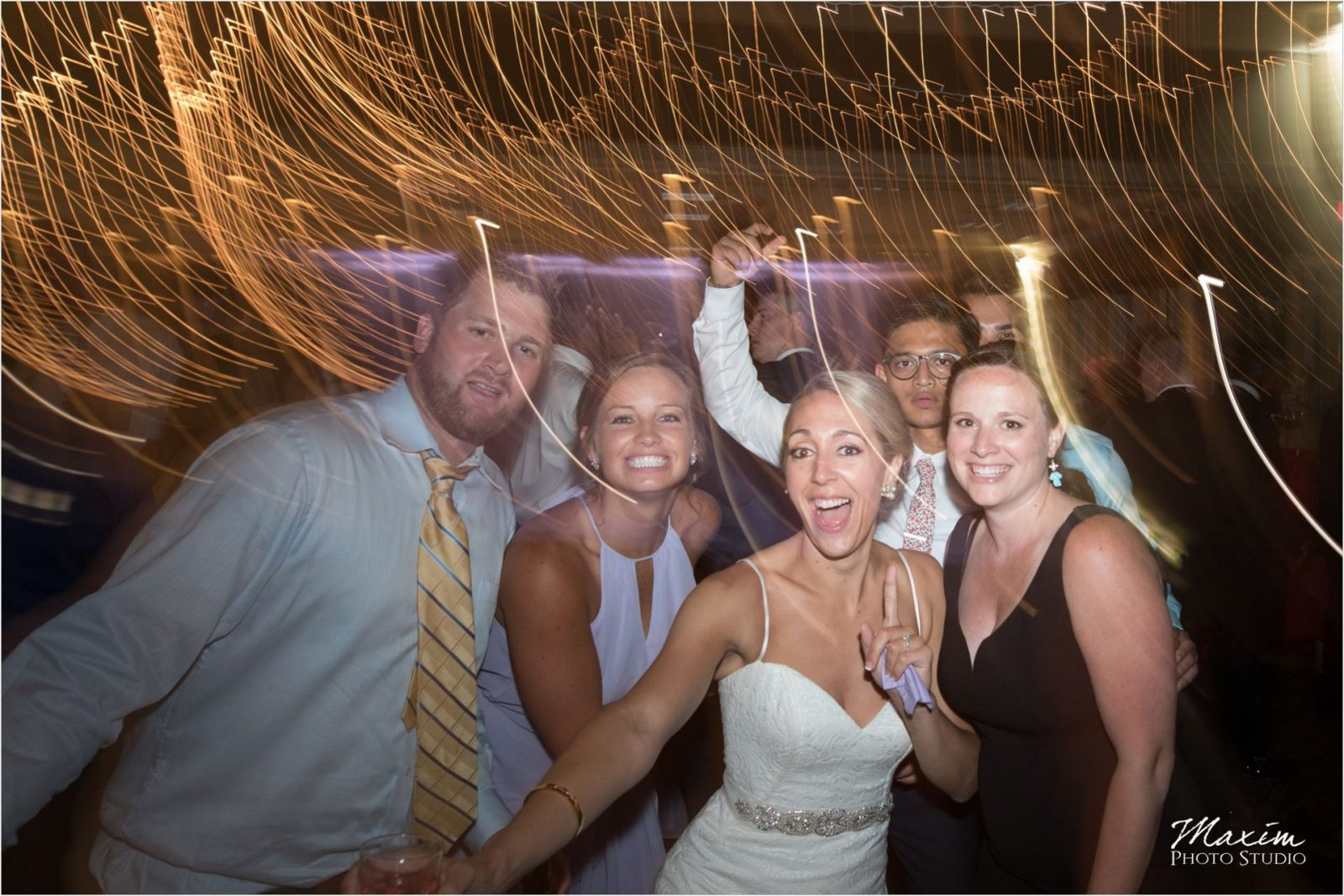 Cincinnati Wedding Photography Drees Pavilion Wedding Reception Dance