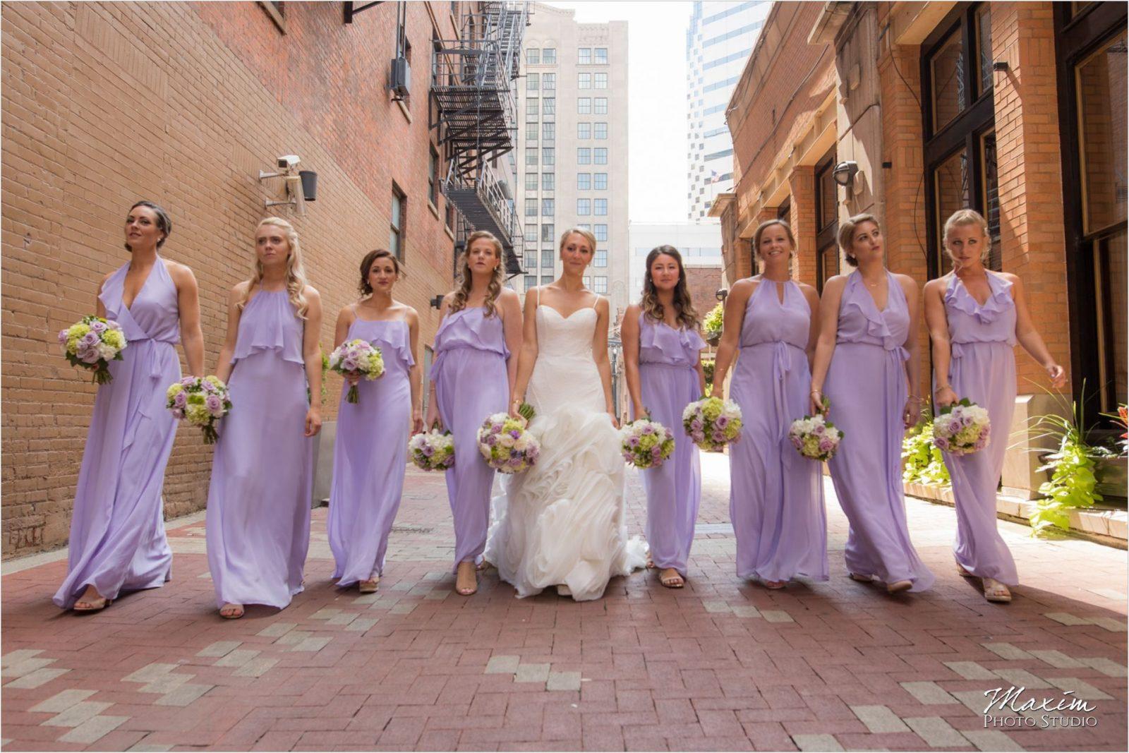 Cincinnati Nicholson Alley Bridesmaids pictures