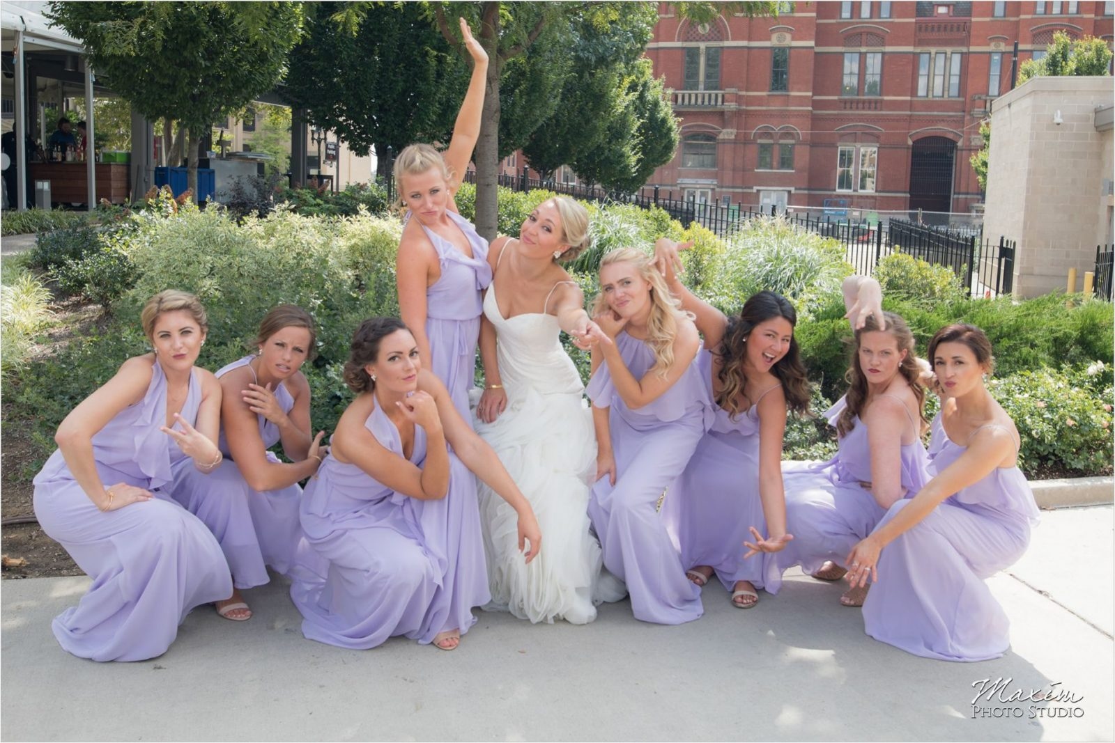 Cincinnati Washington Park Bridesmaids pictures