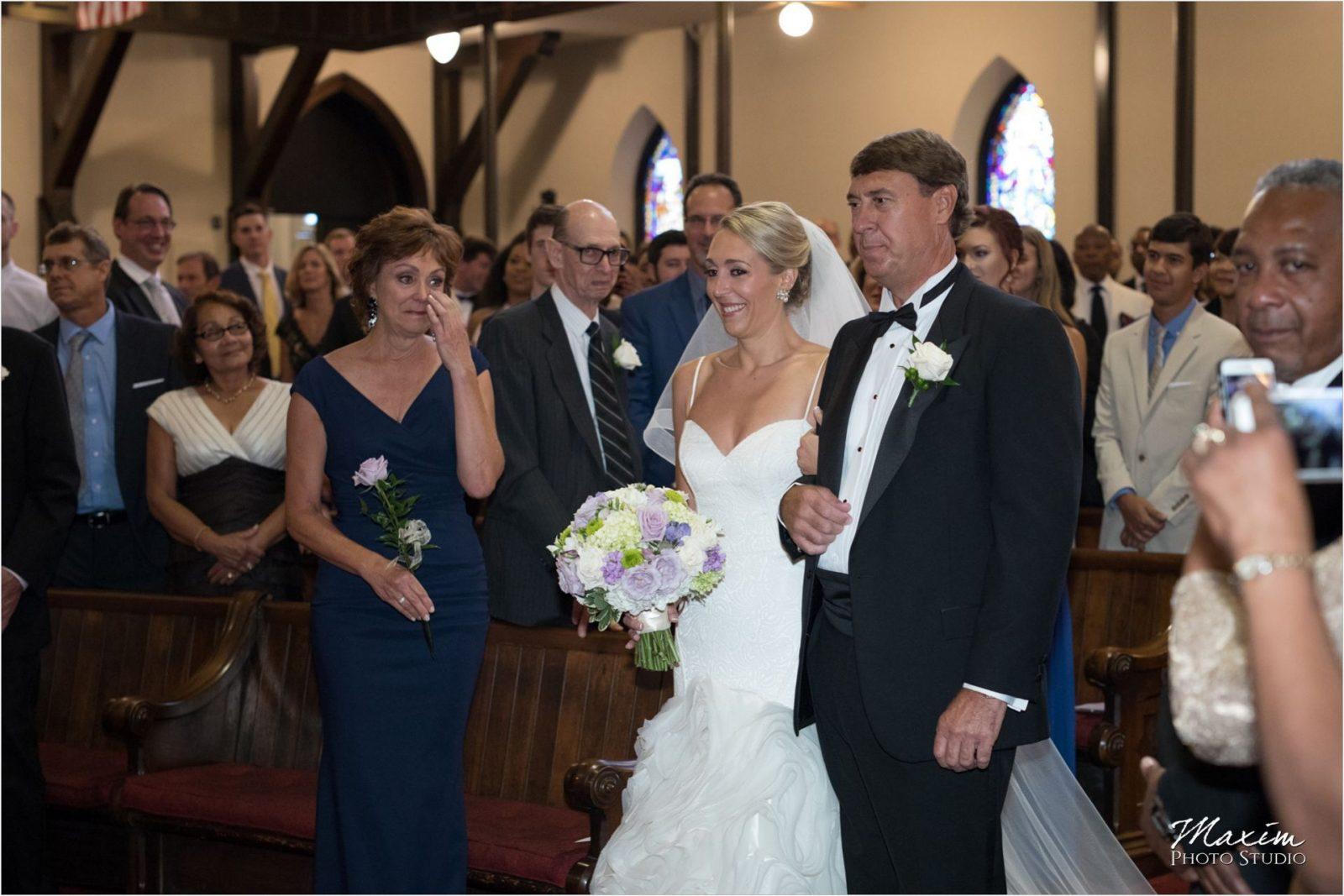 Covenant First Presbyterian Church Wedding Ceremony